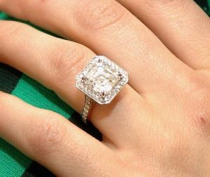 ring asscher cut
